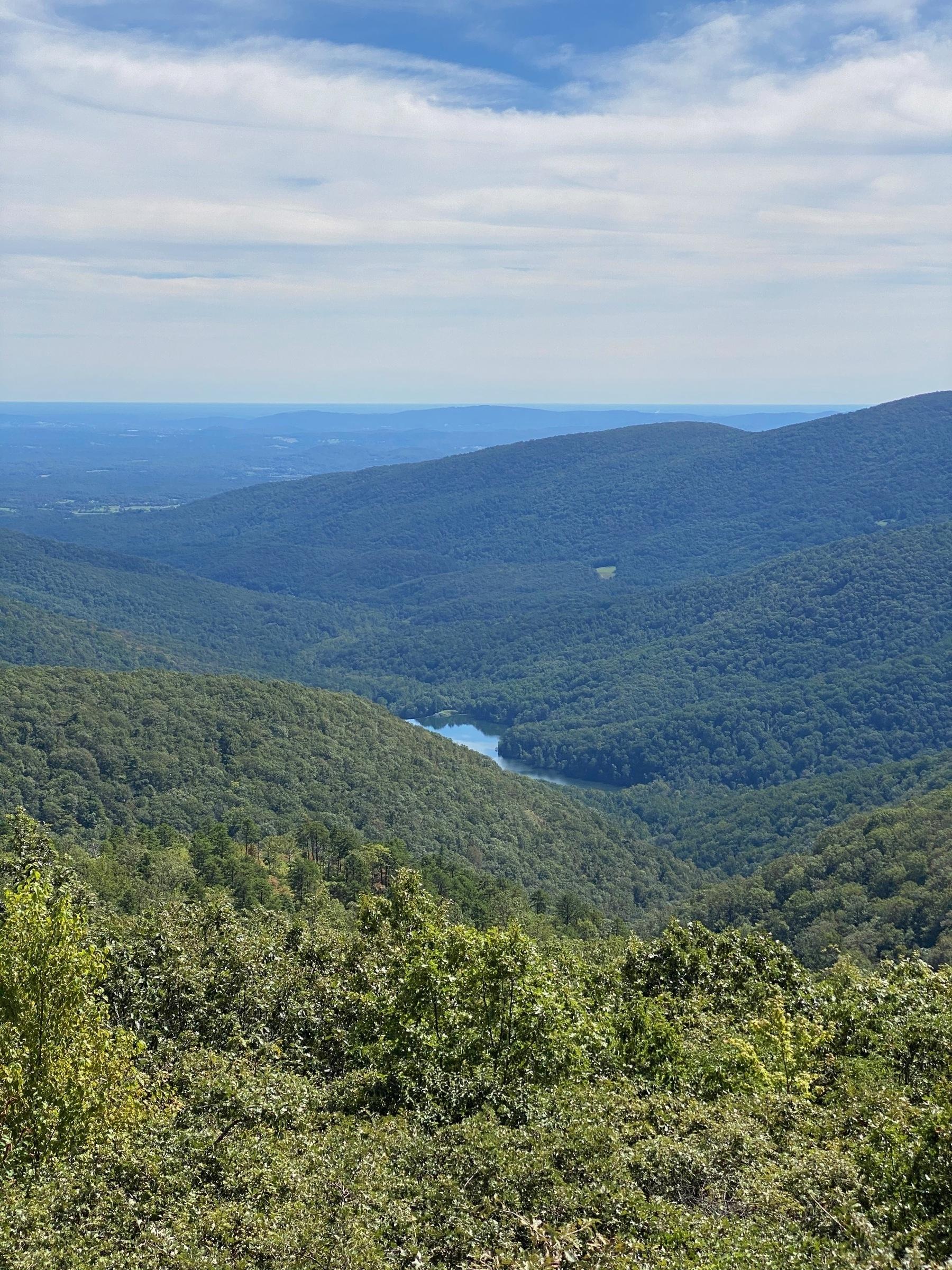 Moorman's River Overlook.